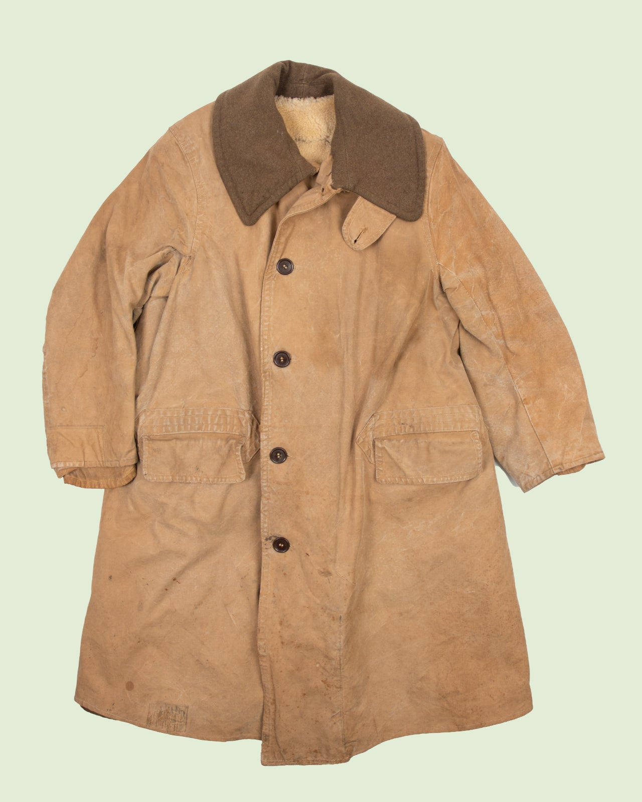 British Sterling Lined Jeep Coat (L)