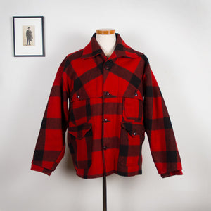 LL Bean Red Checkered Hunting Jacket