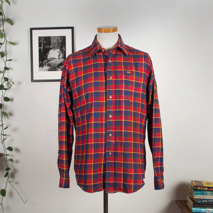 Lee Checkered Wool Shirt