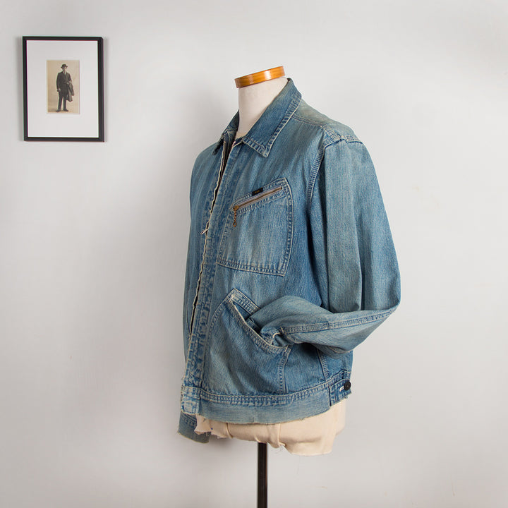Lee Zippered Denim Jacket