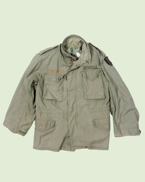 M-65 Field Jacket with Patch (L)