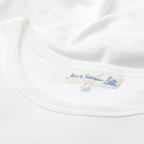 1950s Crew Neck T-shirt White