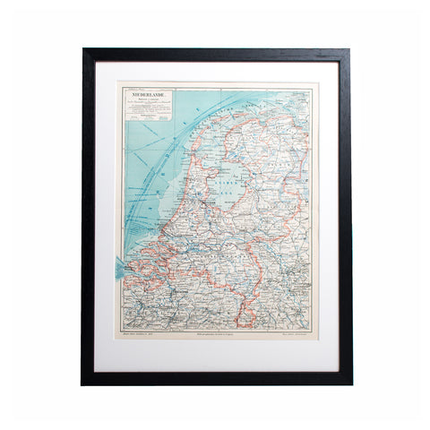 The Netherlands Lithograph