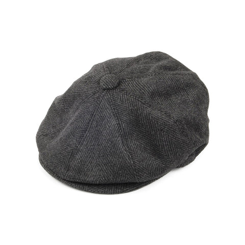 Newsboy Cap Black