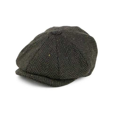 Newsboy Cap Green Wool