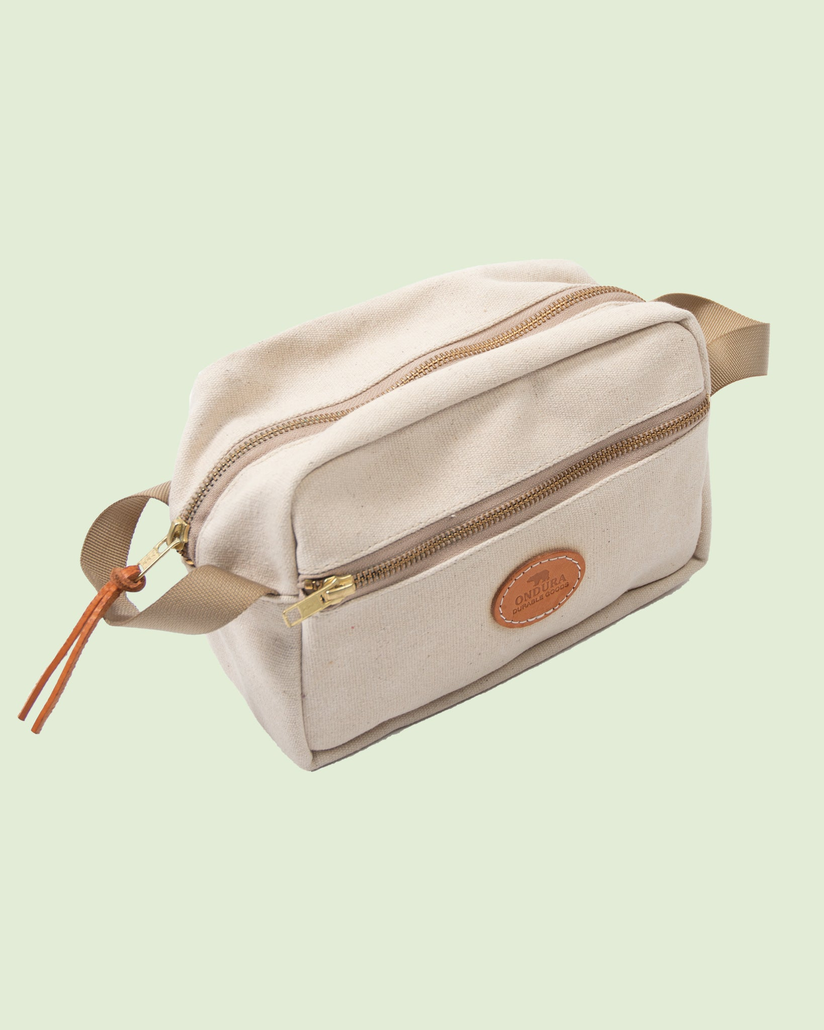 Canvas Dopp Kit Natur