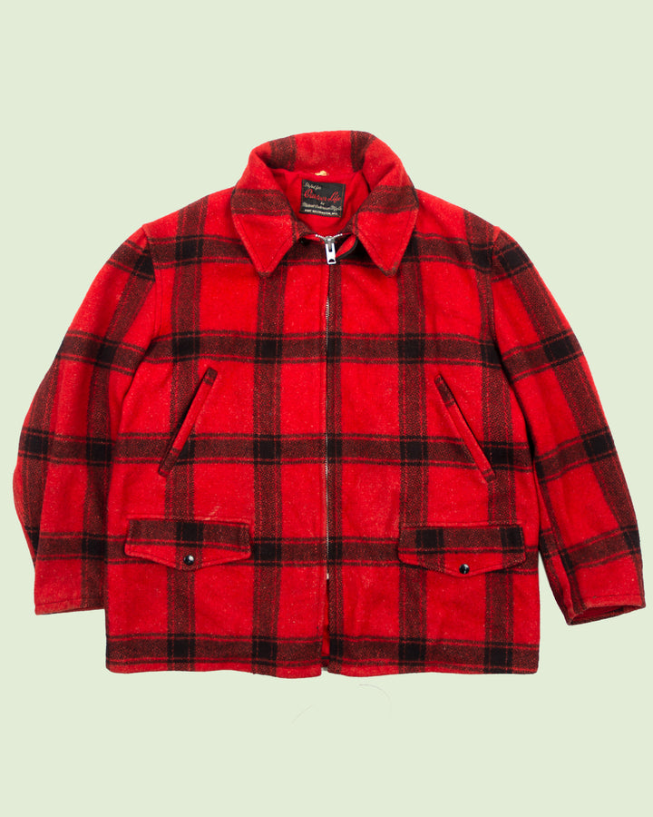 Outdoor Life Buffalo Plaid Jacket (XL)