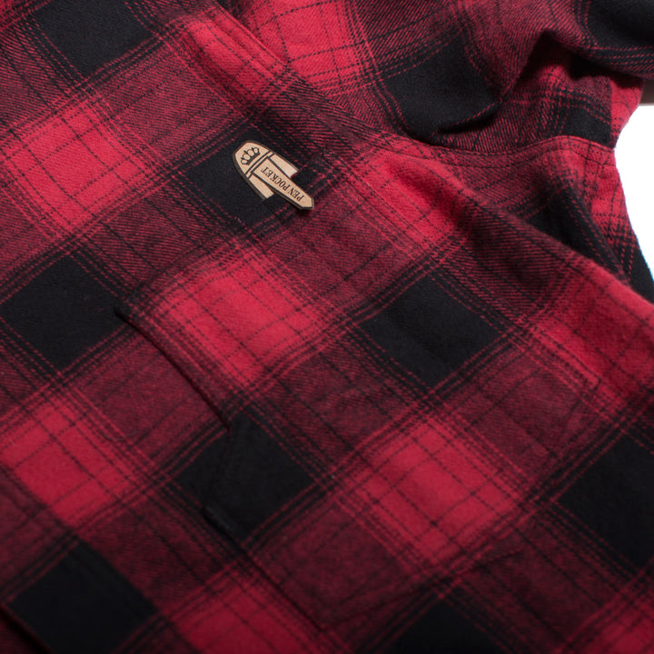 1937 Roamer Shirt Red Check