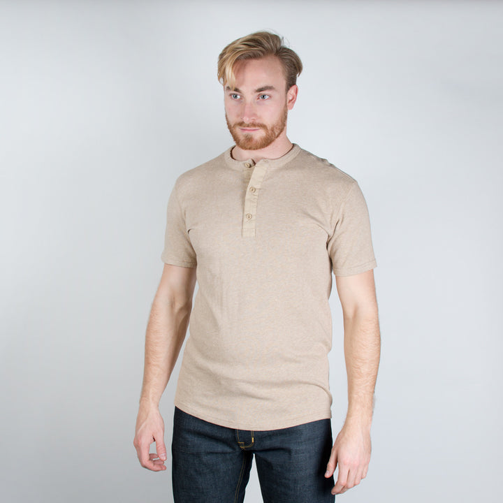 Utility Shirt Short Sleeve Oatmeal