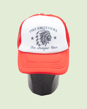 1967 Trucker Cap Chief Red