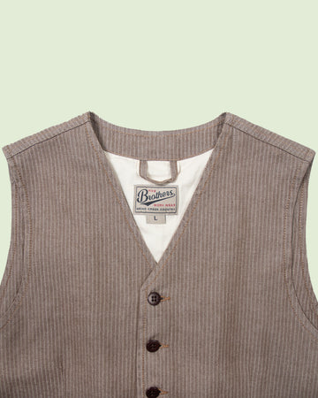 1905 Hauler Vest HBT Brown