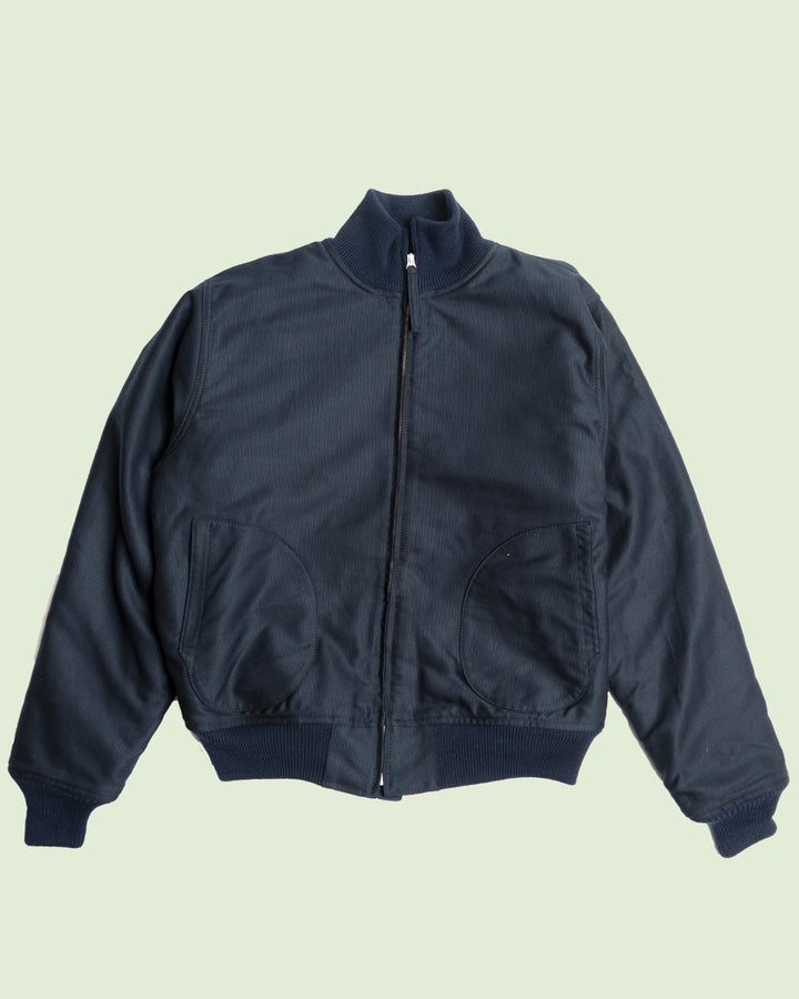 1942 Pike Bros Deck Zip Jacket Dark Blue