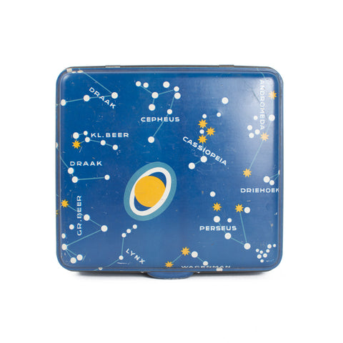 Van Nelle Planets Coffee Tin