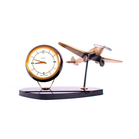 Russian Clock and Plane