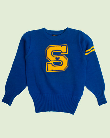 S Letterman Sweater (S)