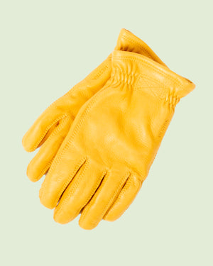 Hestra Sarna Yellow Gloves