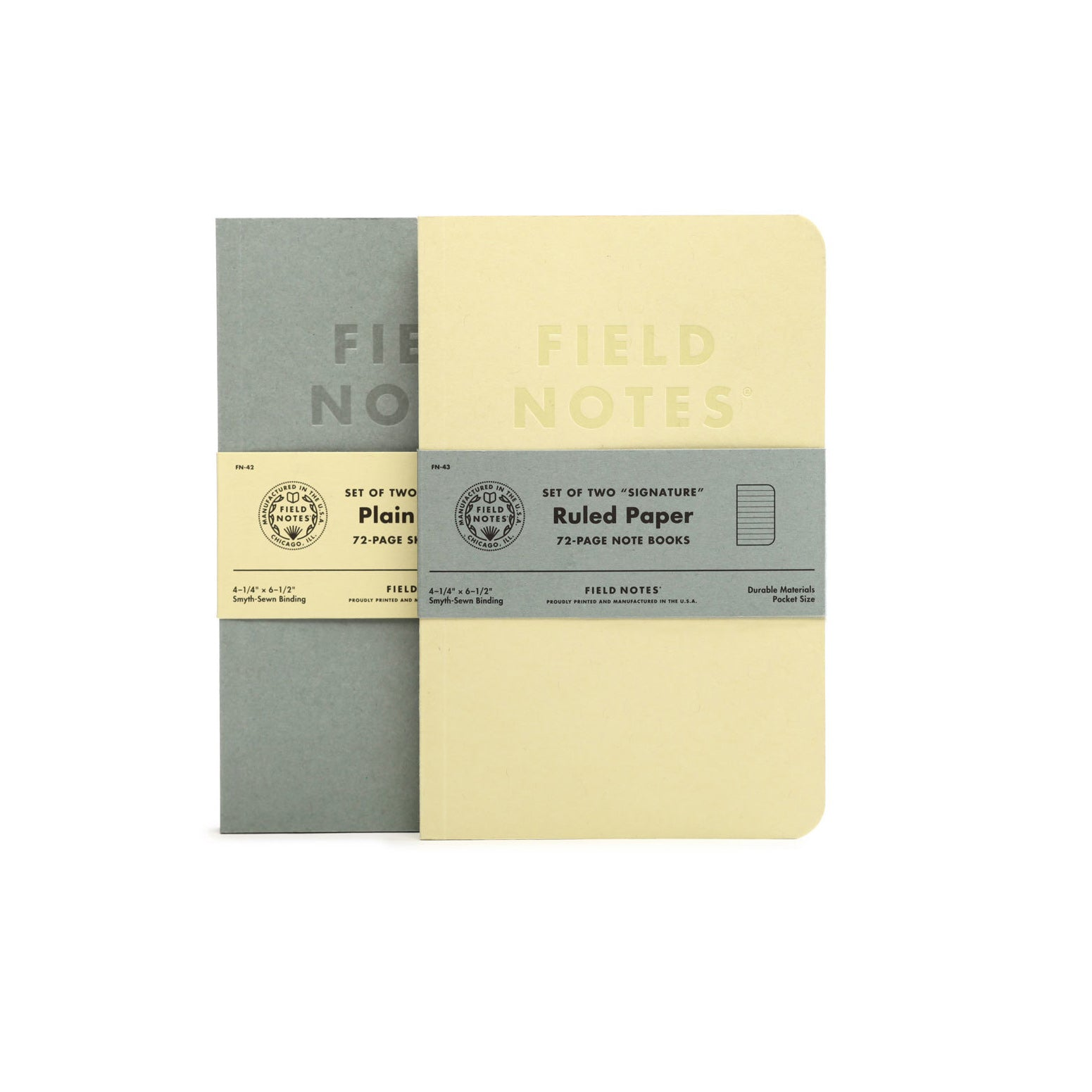 Field Notes Signature