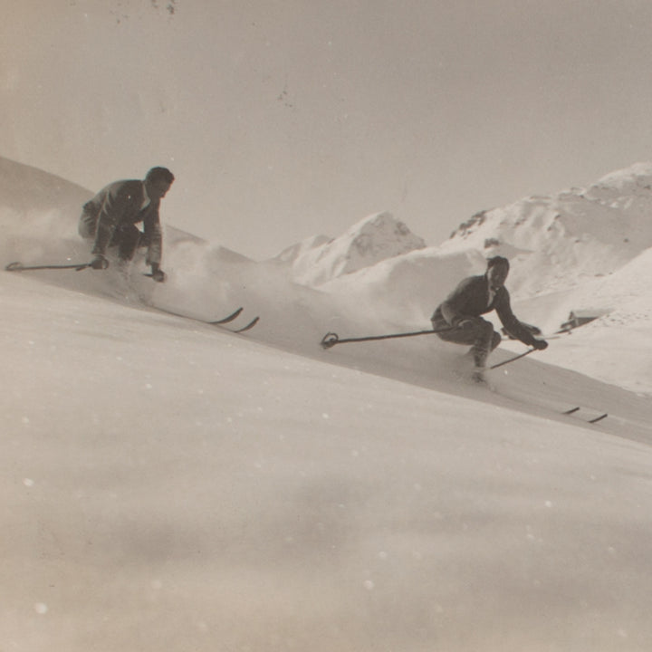 Skiing in 1924