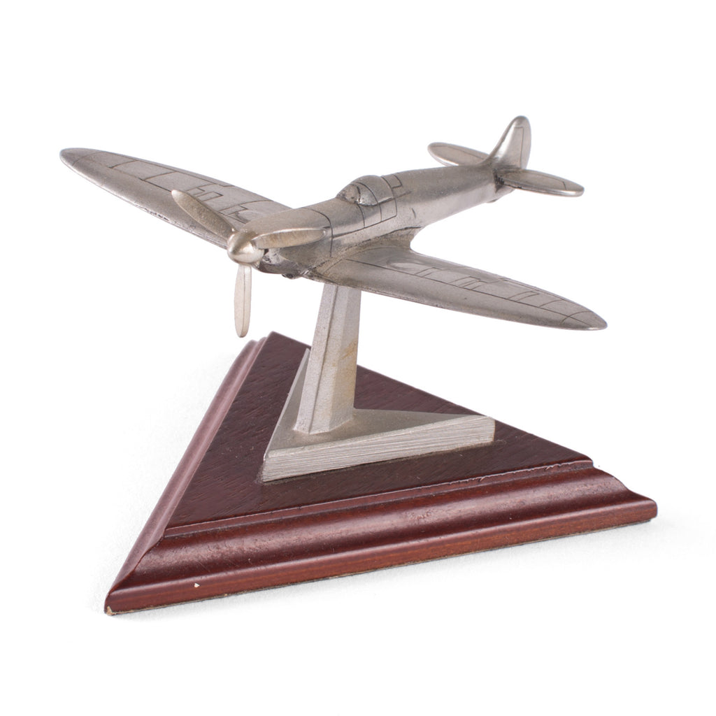 Pewter Tin Spitfire model