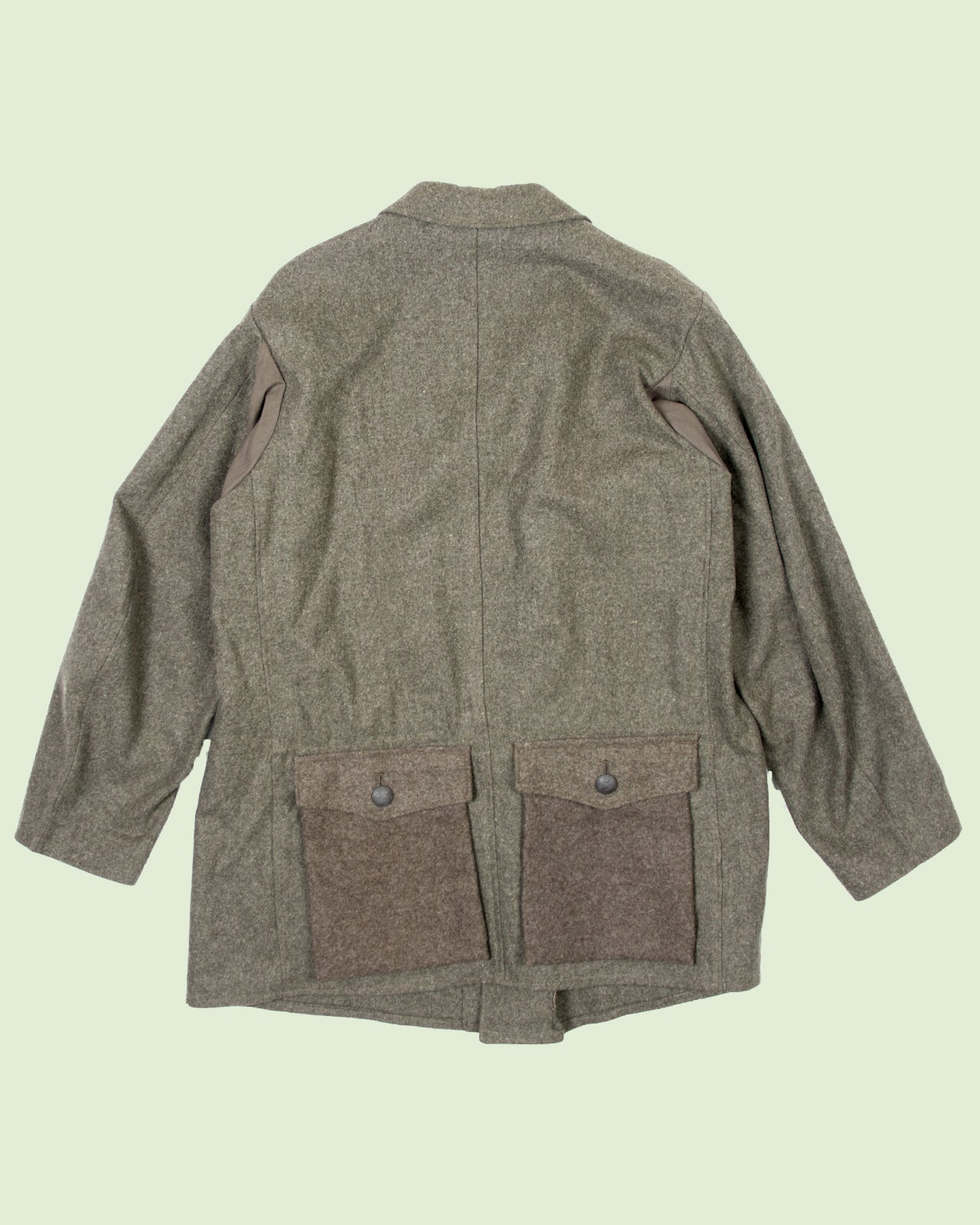 Swedish Woolen Army Coat (XL)