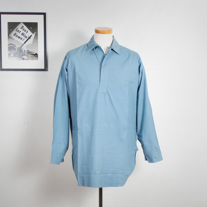 Swedish Navy Pop-over Shirt