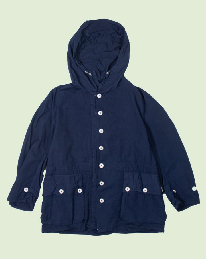 Swedish Blue Over Dyed Parka