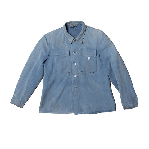Swiss Denim Jacket Battered