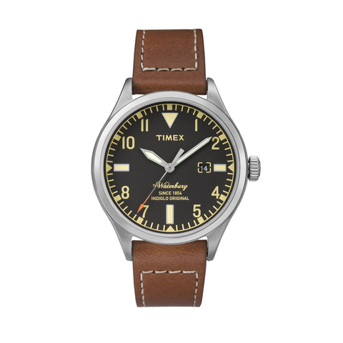 Timex Waterbury Brown Red Wing