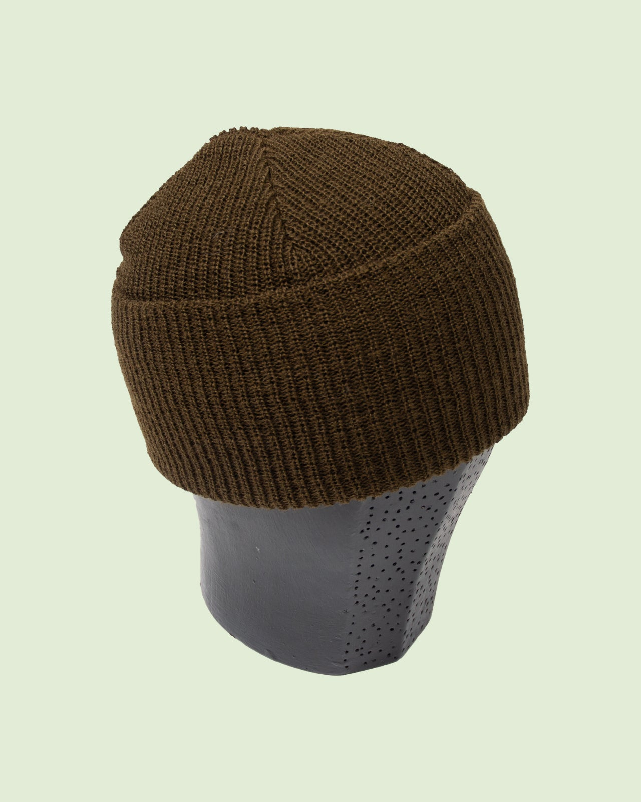 Wool Watch Cap Olive