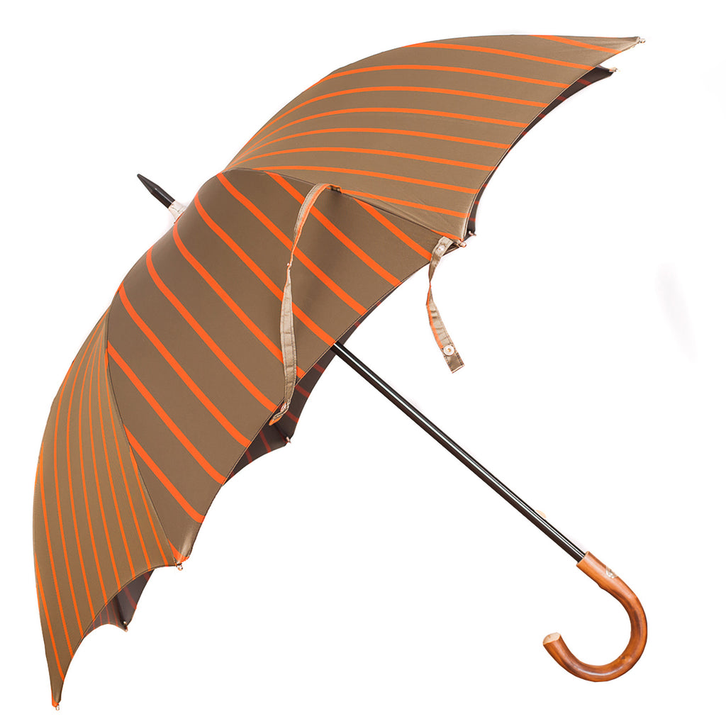 Francesco Maglia Umbrella Grey and Orange