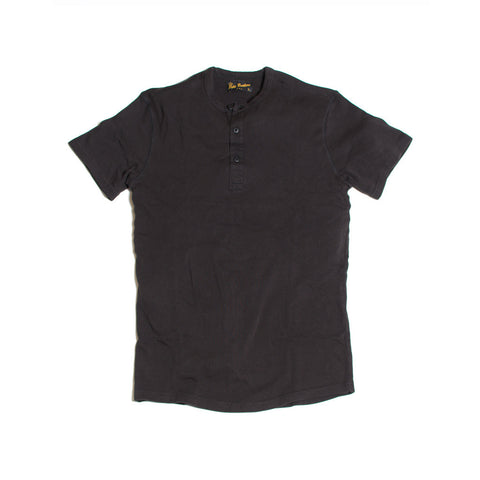 Utility Shirt Short Sleeve Faded Black