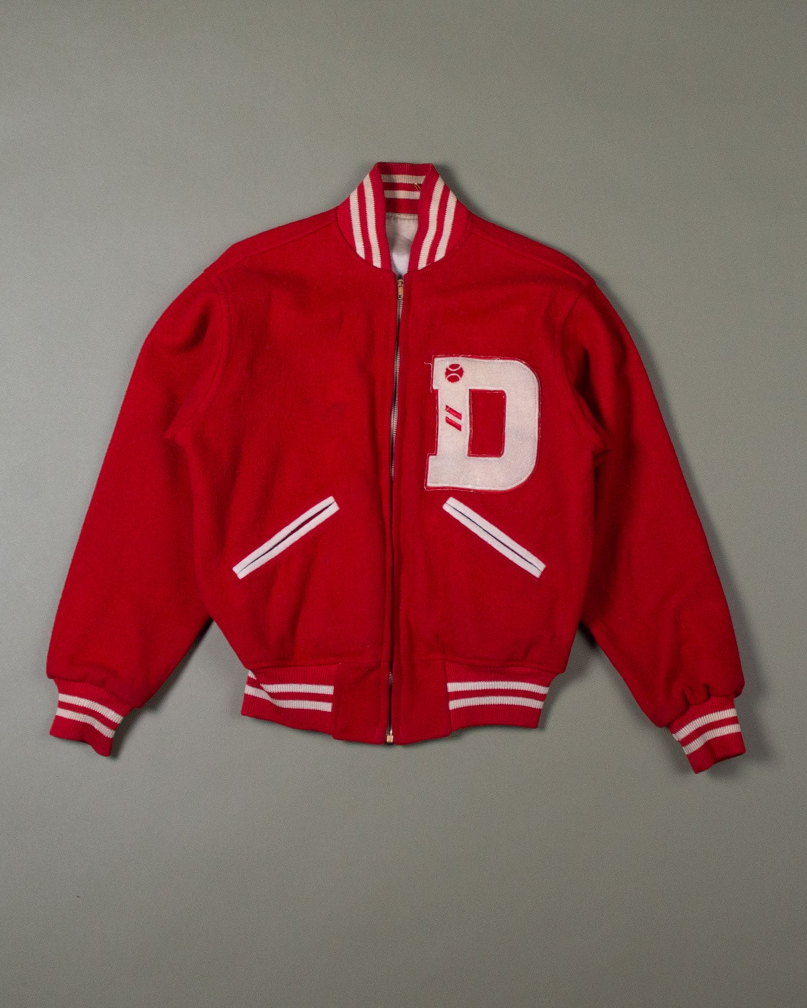 """D"" Reversable Varsity Jacket"