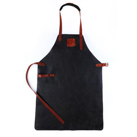 Witloft Leather Apron Black