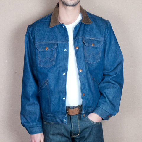 Wrangler Blanket Lined Denim Jacket