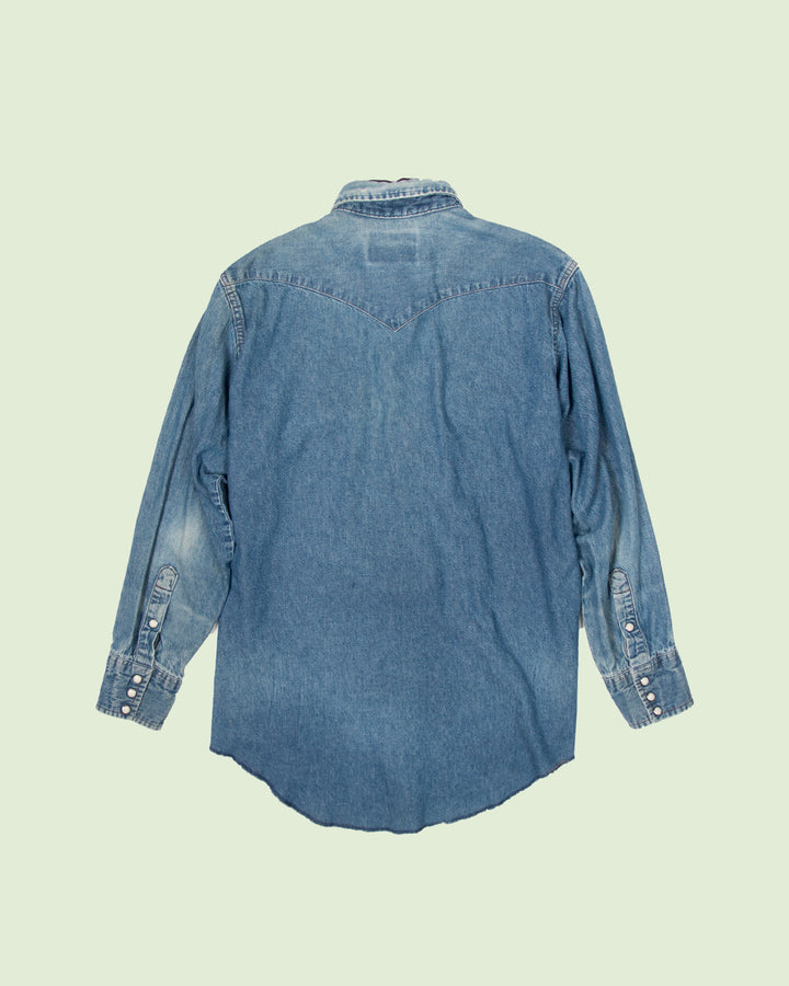 Wrangler Denim Shirt Patched No. 1 (M/L)
