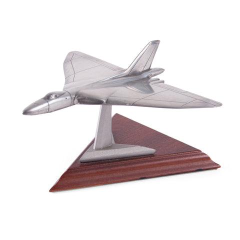Pewter Avro Vulcan Model