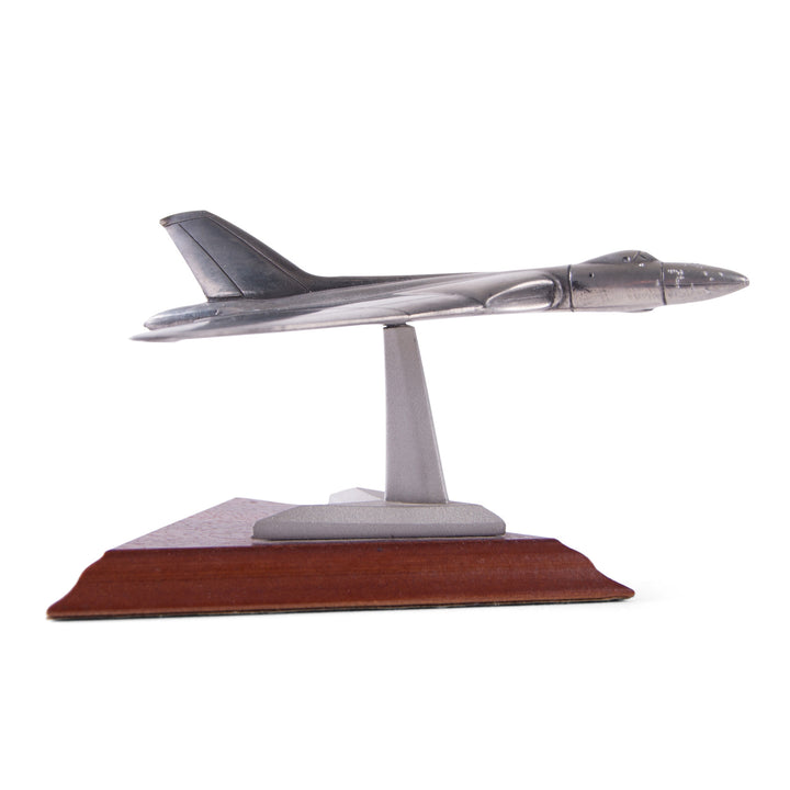 Pewter Avro Vulcan Model Vintage Royal Hampshire