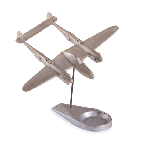 Vintage P-38 Lighting Ashtray