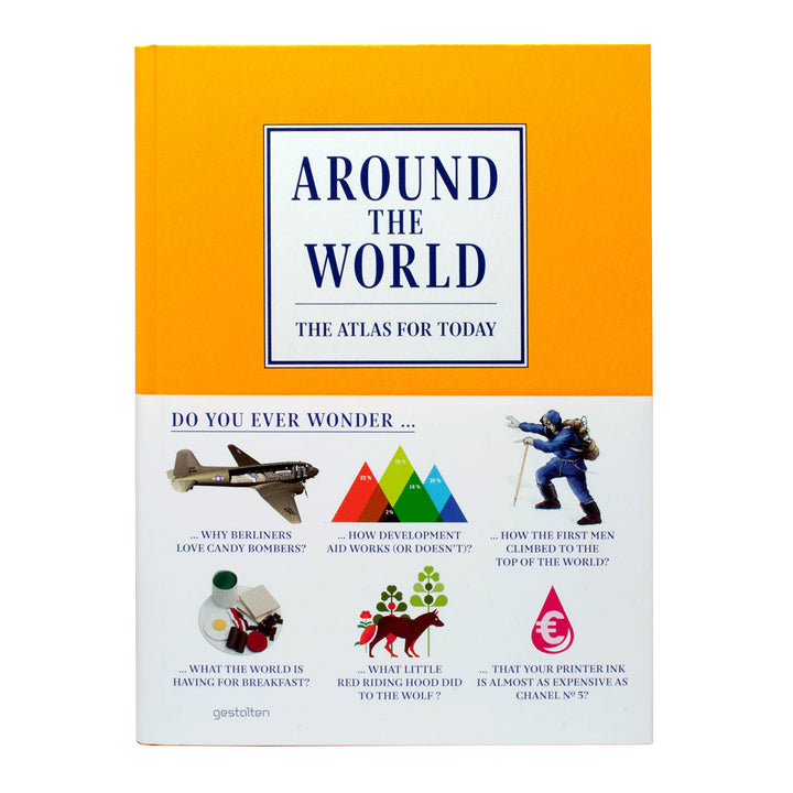 Around the World Atlas Gestalten