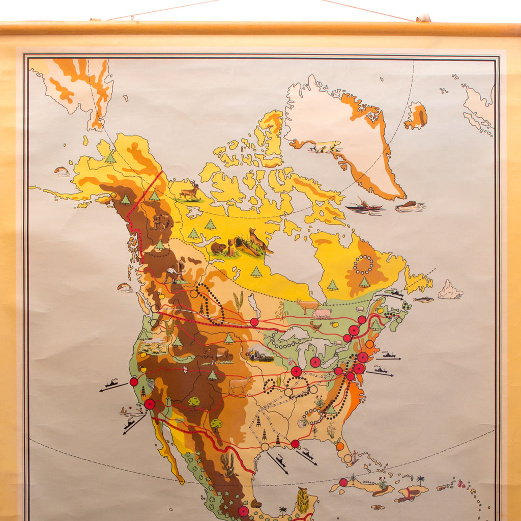North America School Chart