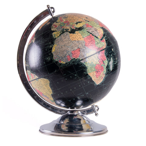 Replogle Black Oceans Globe
