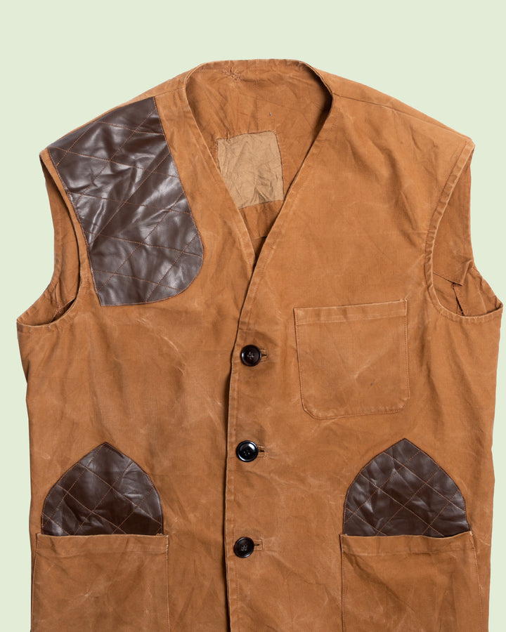 French Duck Canvas Hunting Vest (XXL)