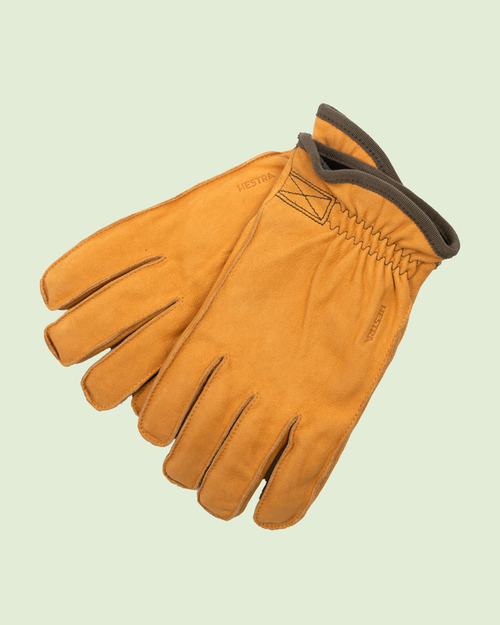 Hestra Tived Yellow Gloves