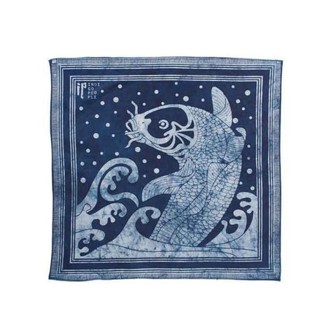 Indigo People Bandana - Kingyo