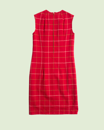 Pendleton Red Checkered Dress (M)