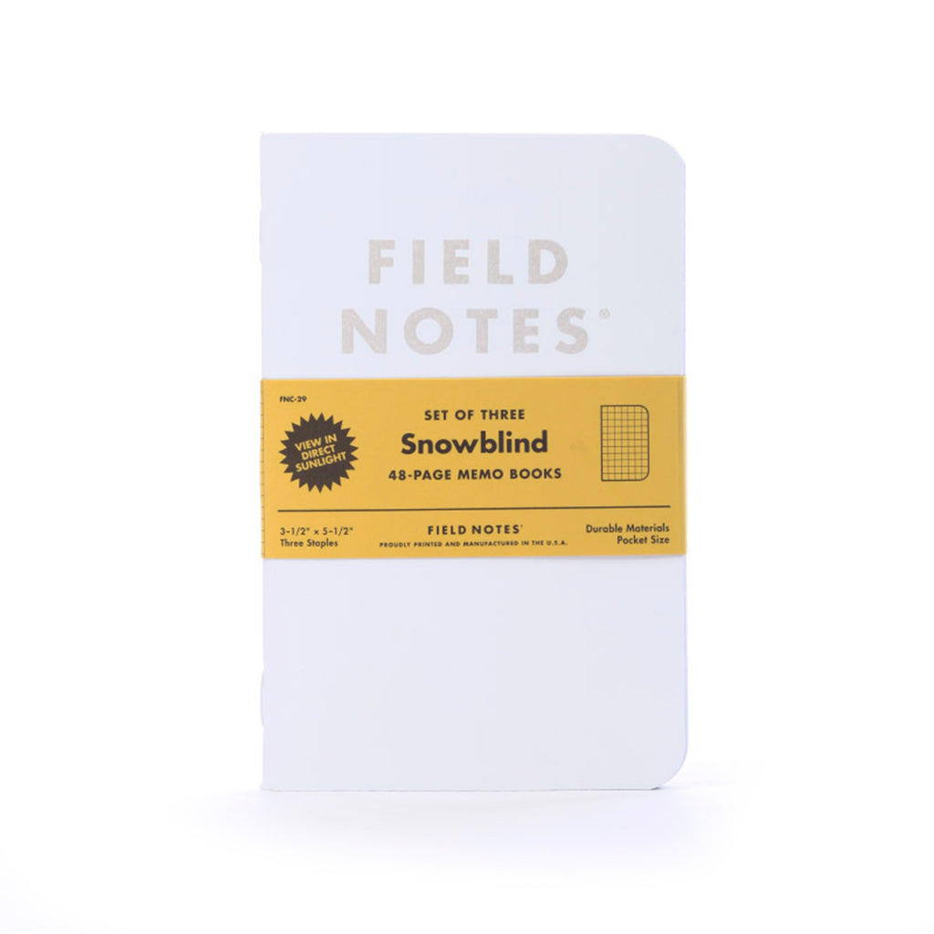 Field Notes Snowblind 3-pack