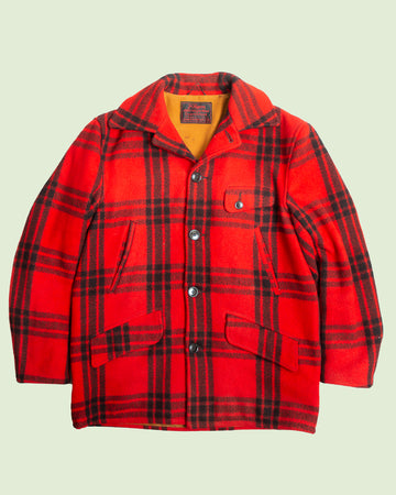 J.C. Higgins Red Checkered Coat