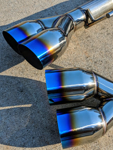 DZC-11715MDBT Dezod Motorsports 2015+ WRX VA 1/2 Made in the USA Stainless Muffler Delete