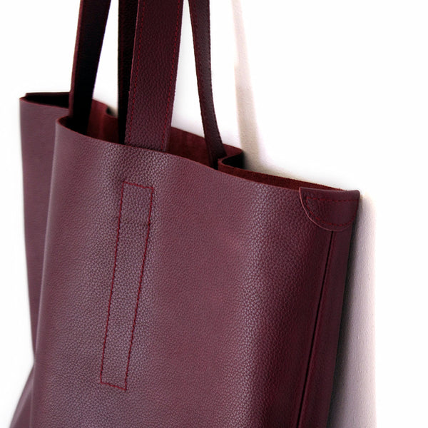The Nora | burgundy