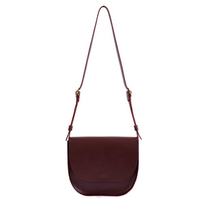 The Miriam | burgundy